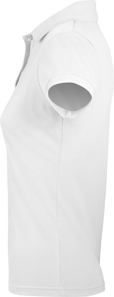 Рубашка поло женская PRIME WOMEN 200 белая