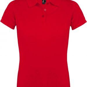 Рубашка поло женская PRIME WOMEN 200 красная