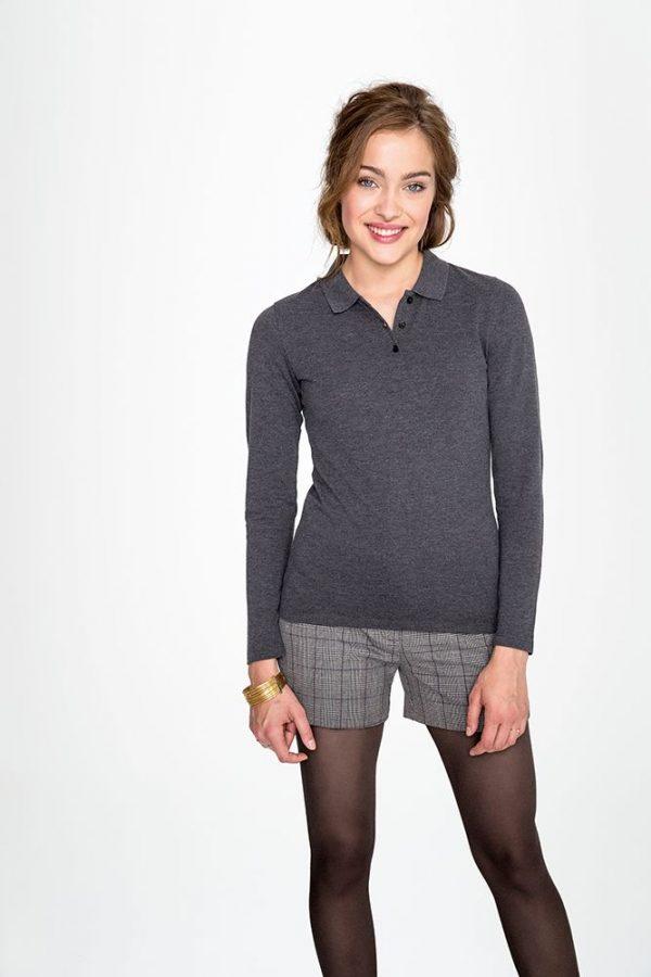 Рубашка поло женская с длинным рукавом PERFECT LSL WOMEN