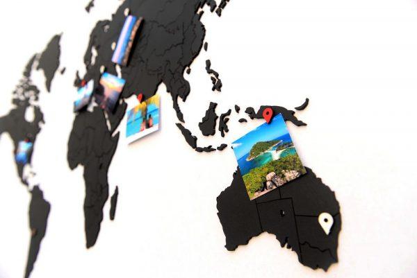 Деревянная карта мира World Map True Puzzle Small