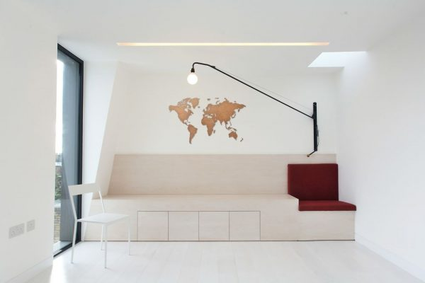 Деревянная карта мира World Map Wall Decoration Small
