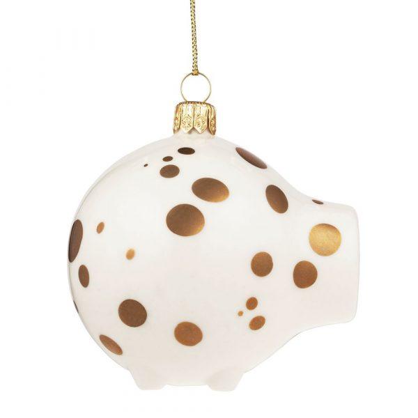 Фарфоровая елочная игрушка My Spheric Pig