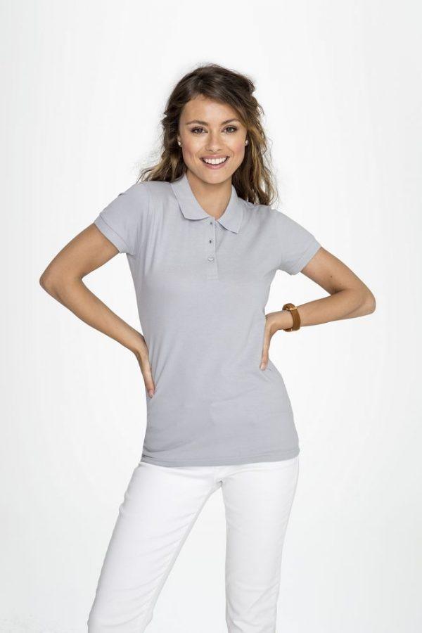 Рубашка поло женская PERFECT WOMEN 180 белая