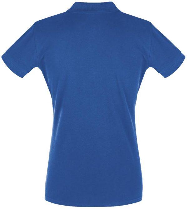 Рубашка поло женская PERFECT WOMEN 180 ярко-синяя