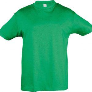ярко-зеленая