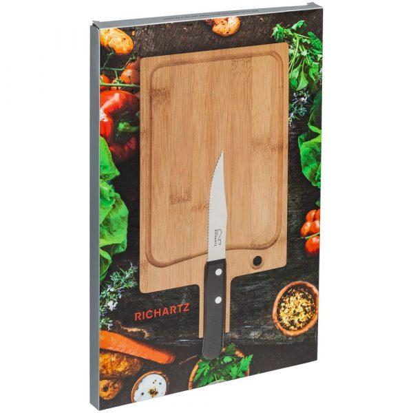 Разделочная доска и нож для стейка Steak