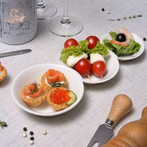 Набор тарелок «Снеговик»