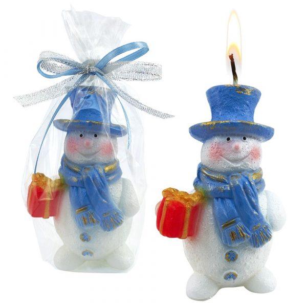 Свеча «Снеговик»