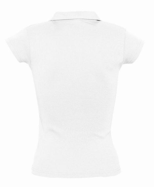 Рубашка поло женская без пуговиц PRETTY 220