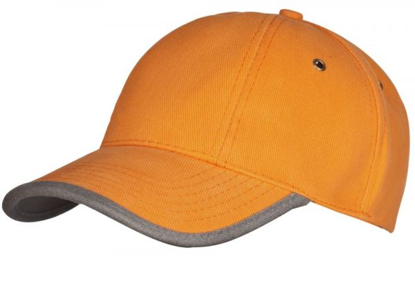 оранжевая с серым