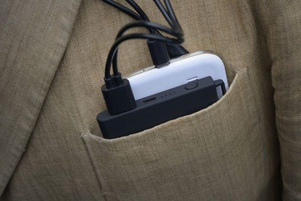 Внешний аккумулятор slimBank 4000 mAh