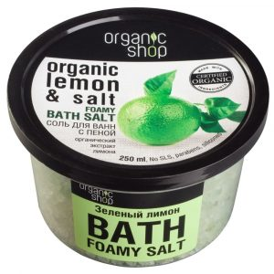 Соль для ванн с пеной «Зеленый лимон»