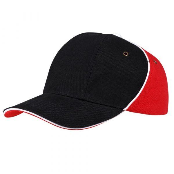 черная с красным