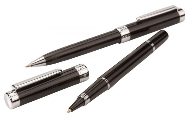 Набор Upright: ручка шариковая и роллер