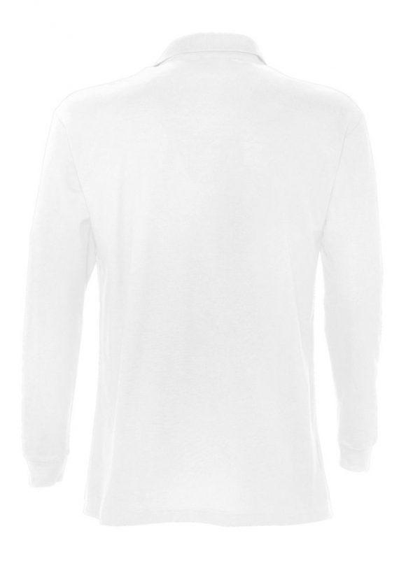 Рубашка поло мужская с длинным рукавом STAR 170