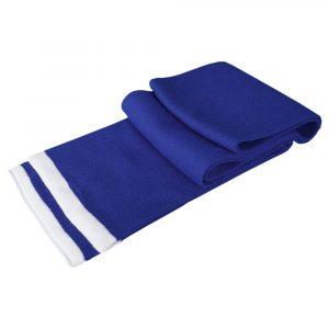 синий (василек) с белым