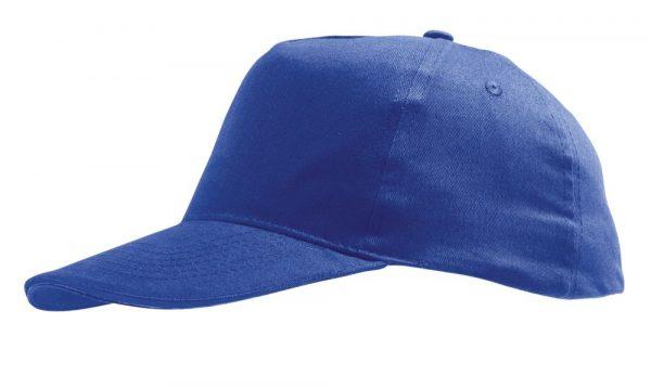 ярко-синяя