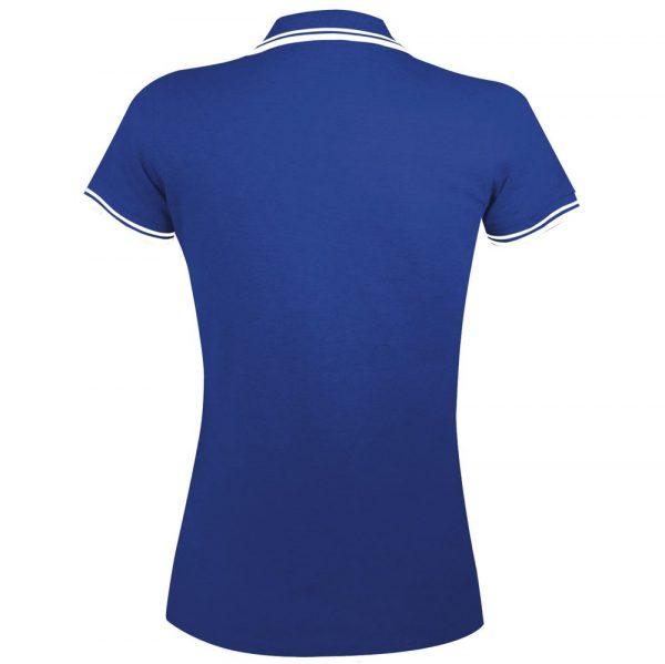 Рубашка поло женская PASADENA WOMEN 200 с контрастной отделкой