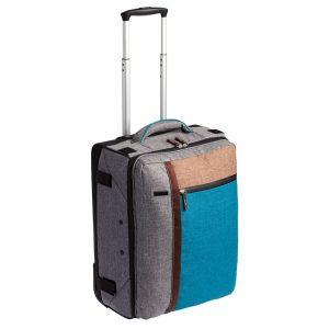 Складной чемодан на колесах «Санто-Доминго»