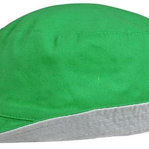 ярко-зеленая с серым
