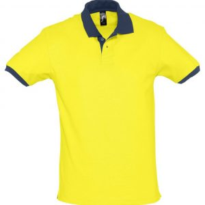 желтая с темно-синим