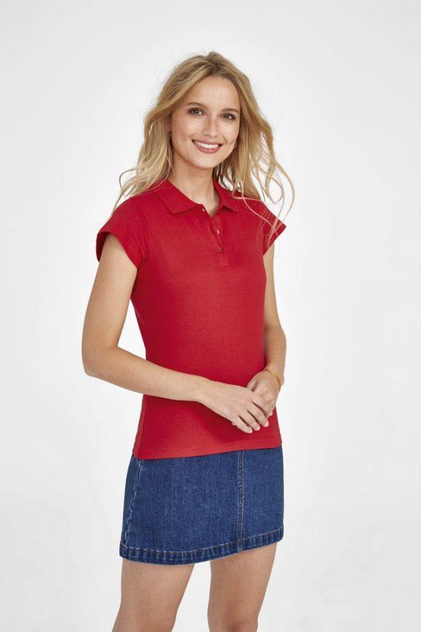 Рубашка поло женская Prescott Women 170