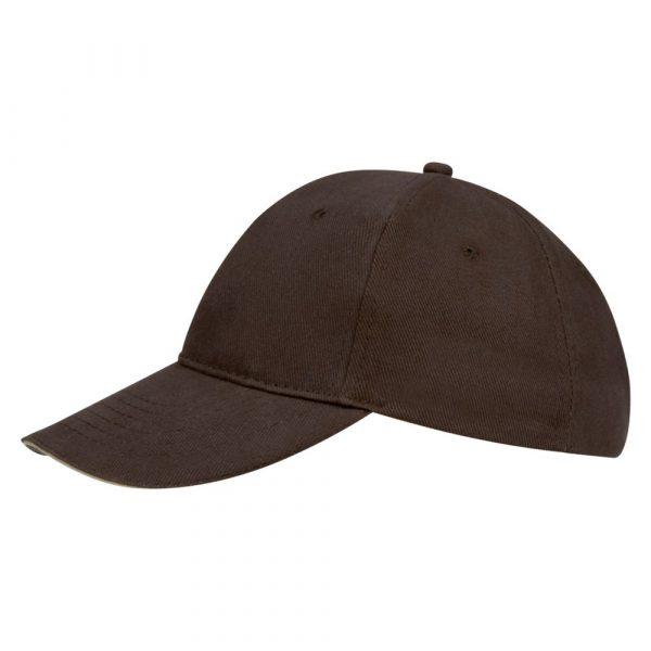 коричневая с бежевым