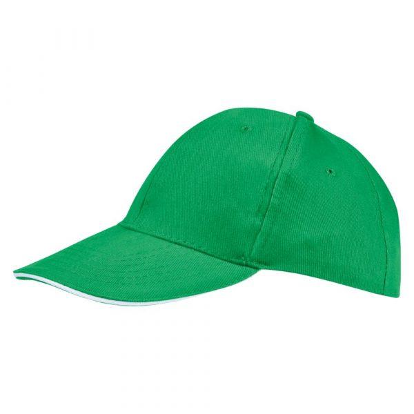 ярко-зеленая с белым