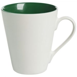 белая с зеленым