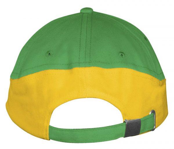 ярко-зеленая с желтым