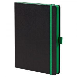 черный с зеленым