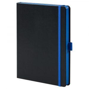 черный с синим