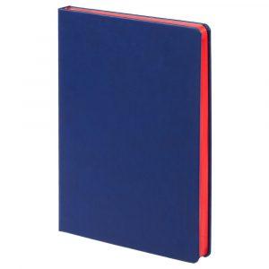 синий с красным