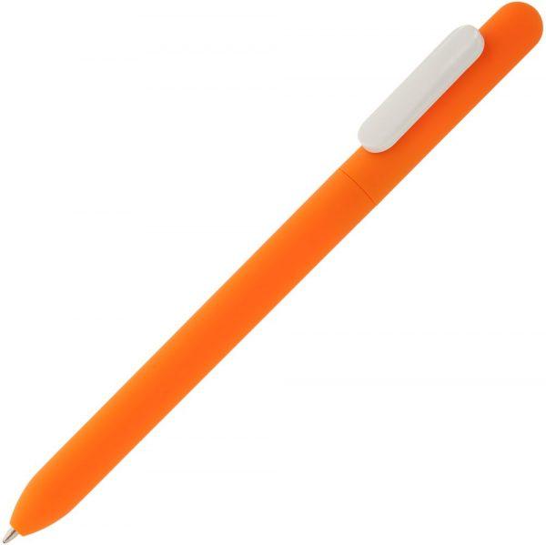 оранжевая с белым