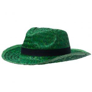 зеленая с черной лентой