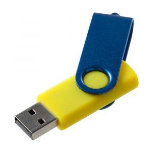 желтая с синим