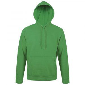 Толстовка с капюшоном Snake II ярко-зеленая