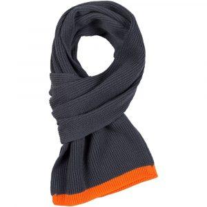 серый с оранжевым