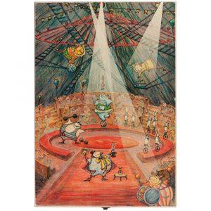 Набор из 3 елочных игрушек Circus Collection: барабанщик
