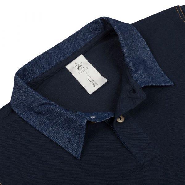 Рубашка поло мужская DNM Forward темно-синяя