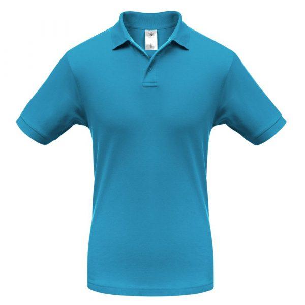 Рубашка поло Safran бирюзовая