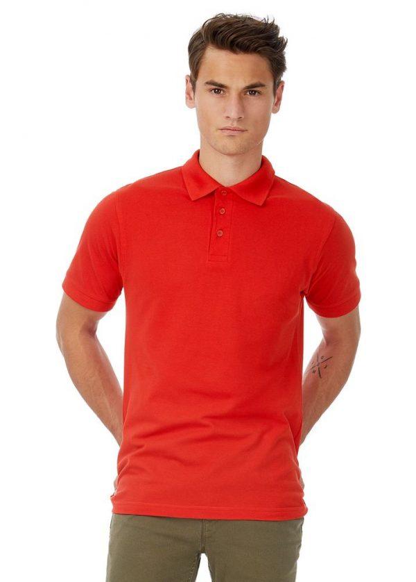 Рубашка поло Safran серый меланж