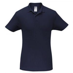 Рубашка поло ID.001 темно-синяя