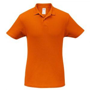 Рубашка поло ID.001 оранжевая