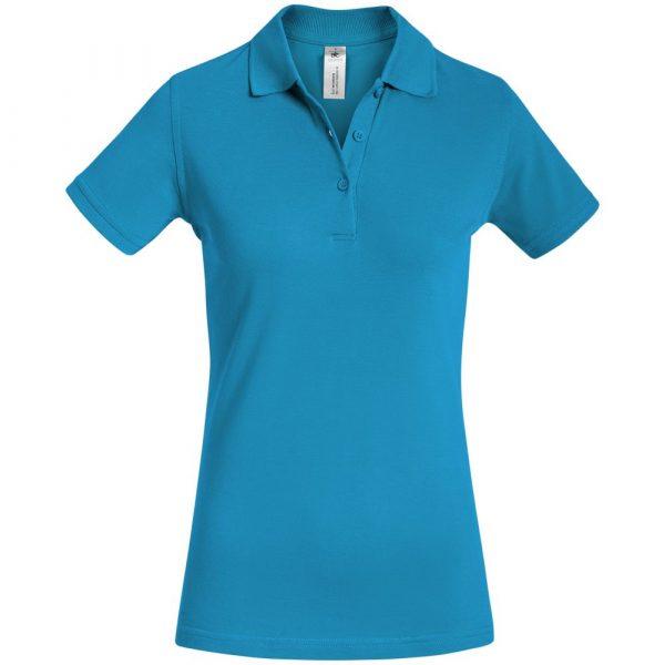 Рубашка поло женская Safran Timeless бирюзовая