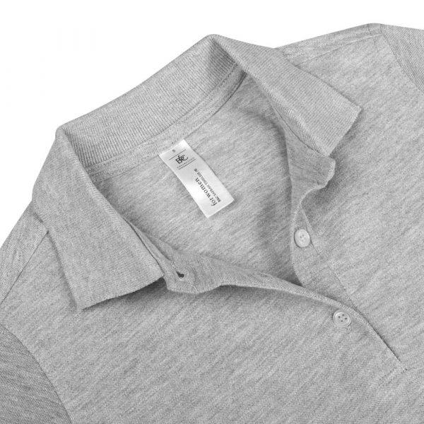Рубашка поло женская Safran Timeless серый меланж