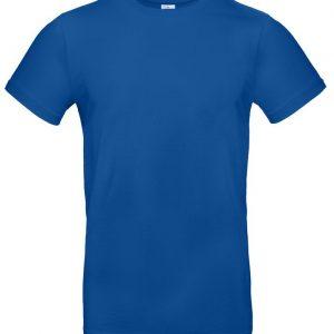 Футболка E190 ярко-синяя