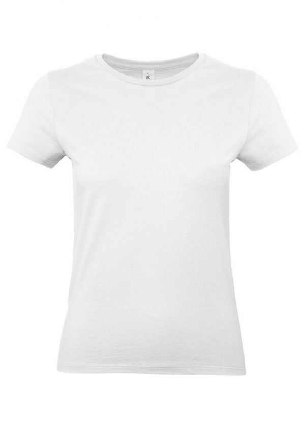 Футболка женская E190 белая