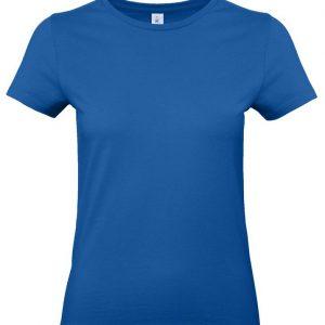 Футболка женская E190 ярко-синяя