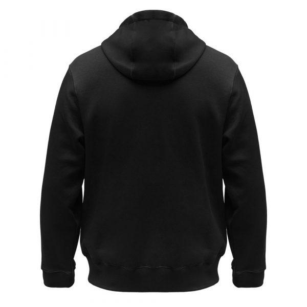 Толстовка мужская Hooded Full Zip черная
